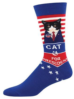 Cat For President - Blue