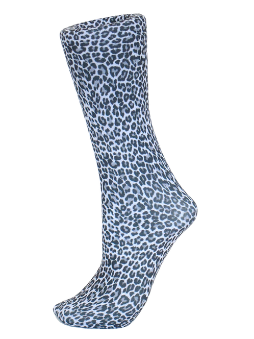 Cheetah Black - Compression Socks