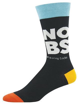 No Boring Socks - Black