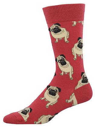 Pugs -Terracotta Red