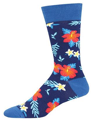 Aloha Floral - Blue