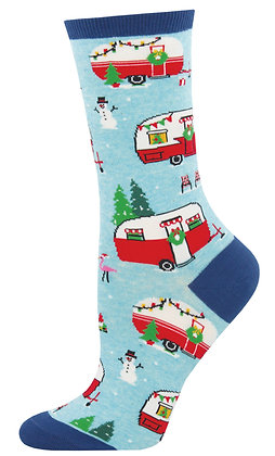 Christmas Campers - Blue Heather