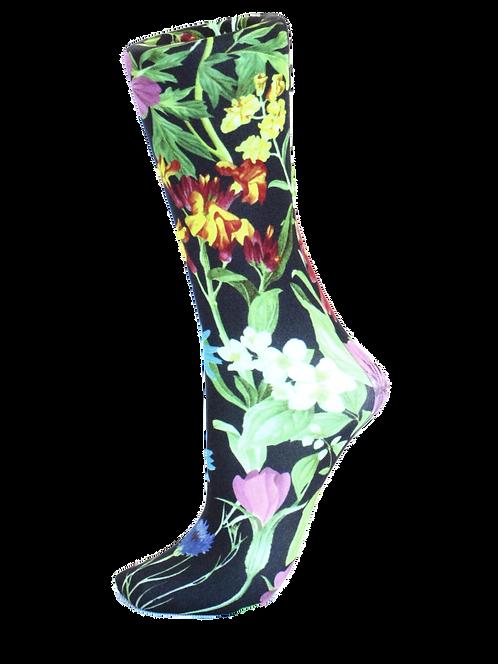 Black Bellagio - Compression Socks
