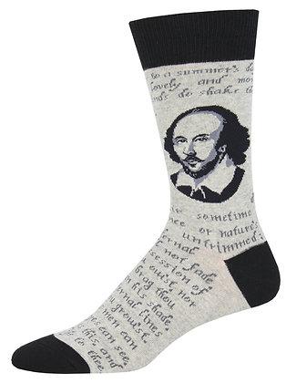 Shakespeare Sonnet - Gray Heather