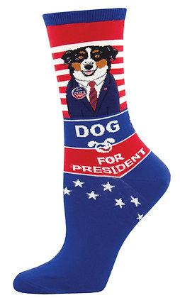Dog For President - Blue