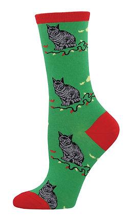 Christmas Cat-astrophe-Green