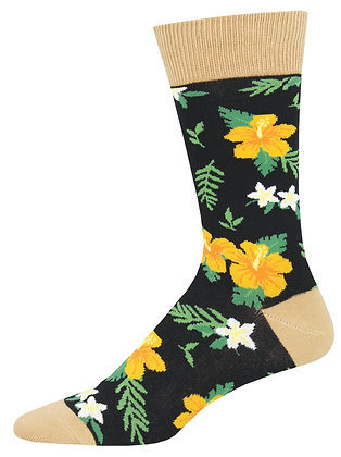 Aloha Floral - Black