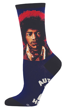 Hendrix Portrait - Blue