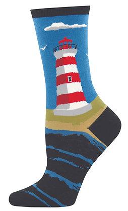 Lighthouse - Coastal Blue