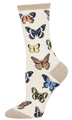 Majestic Butterflies - Ivory Heather