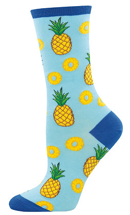 Partial To Pineapples - Blue