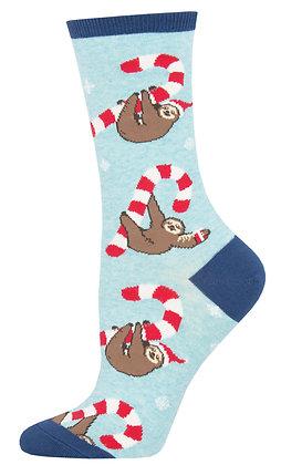 Merry Slothmas - Blue Heather