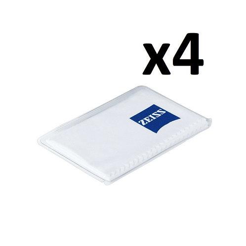 Lot de 4 Chiffon Microfibre ZEISS 17x15cm