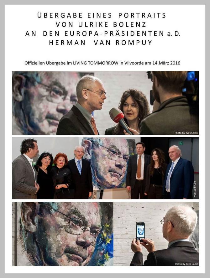 Portrait - Herman Van Rompuy -