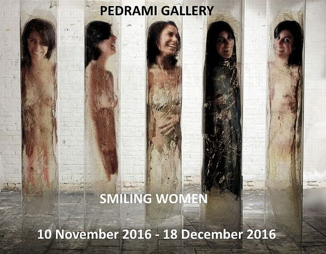 SMILING WOMEN - Pedrami Gallery Solo-Exhibition