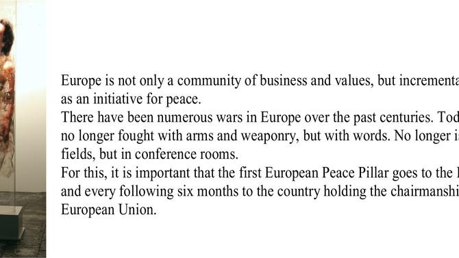 Säule der 'Lachenden' in der Bulgarischen Botschaft