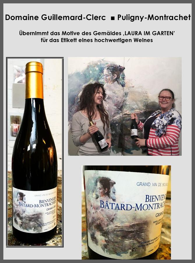 Weingut GUILLEMARD-CLERC - France übernimmt Gemälde für Weinetikett