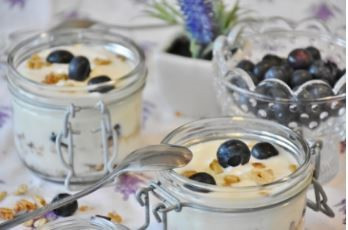 Blueberry Cheesecake Dip
