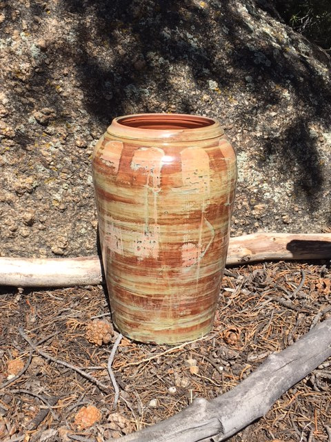 Earth Tones Vase