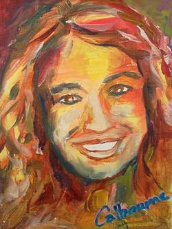 P.Kiki Oil Painting