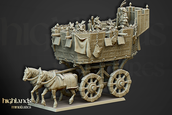The Wittemberg Wagon by Highlands Miniatures