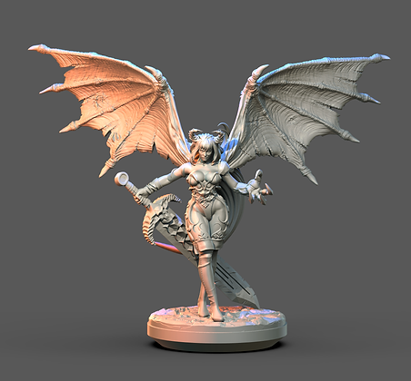 Succubus from Clay Cyanide Miniatures