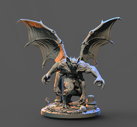 Night Monster Variant 2 from Clay Cyanide Miniatures