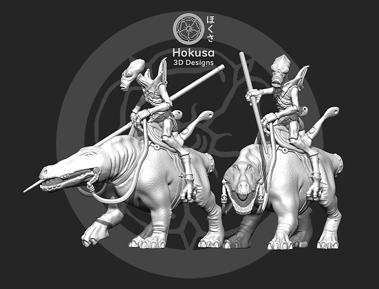 Space Bug Cavalry from Hokusa
