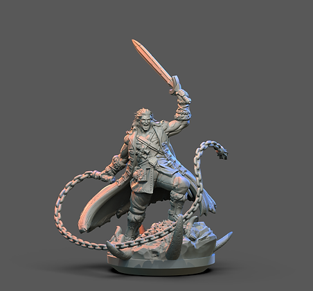 Trevor from Clay Cyanide Miniatures