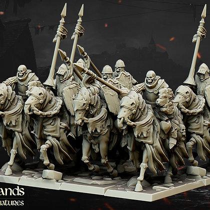 Undead Dark Knights by Highland Miniatures