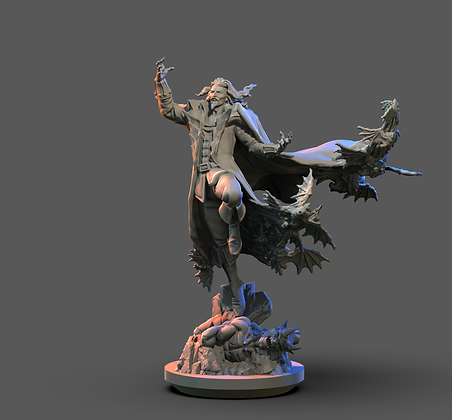 Dracula from Clay Cyanide Miniatures