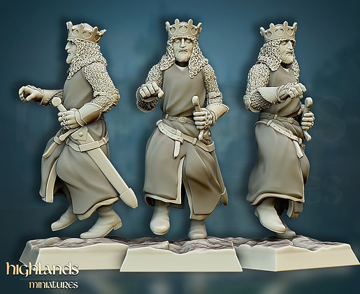 Arthur King of the Britons from Highlands Miniatures