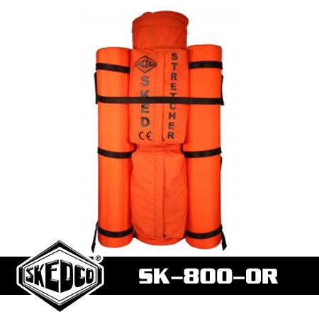Sked® Complete Rescue System – International Orange