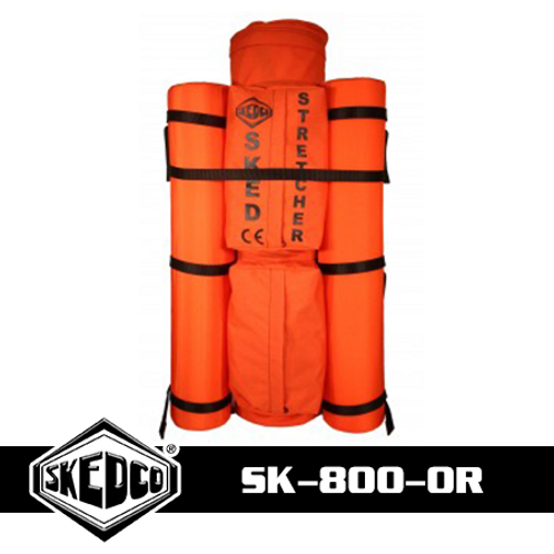 Sked® Complete Rescue System – International Orange