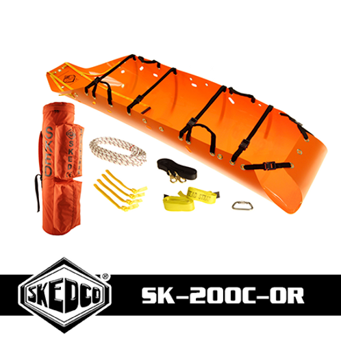 Sked® Basic Rescue System – International Orange