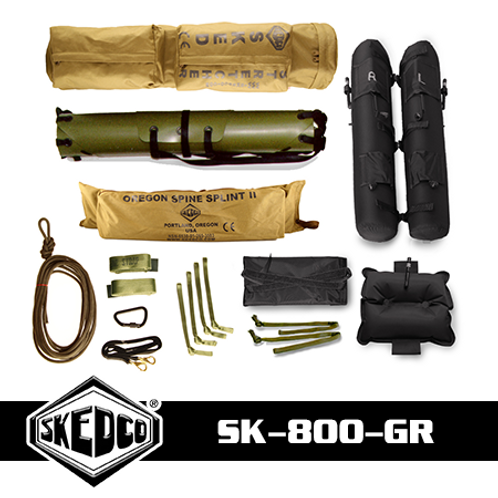 Sked® Complete Rescue System – O.D. Green