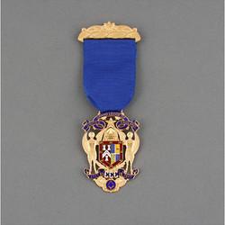 Tercentenary medal UGLE