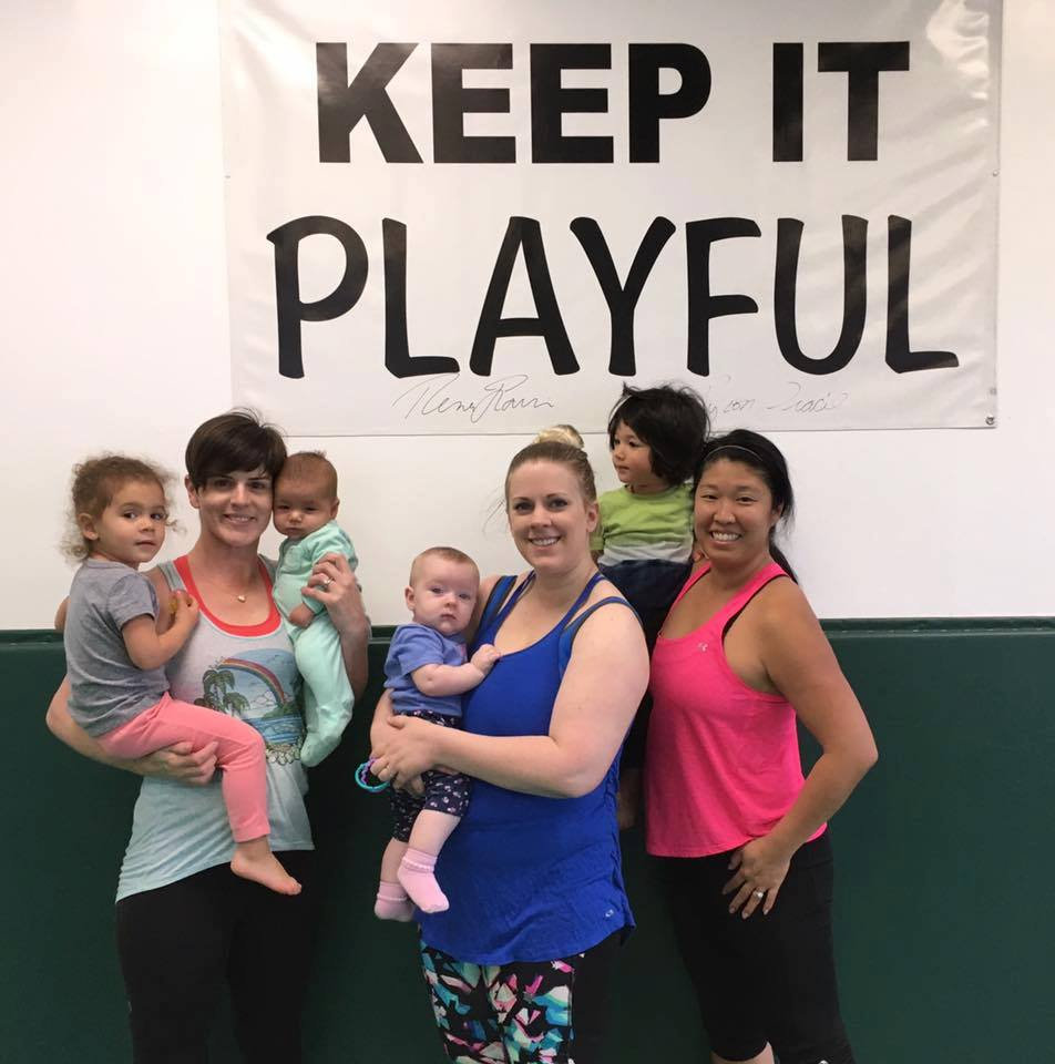 Mommy and Me Fitness Class