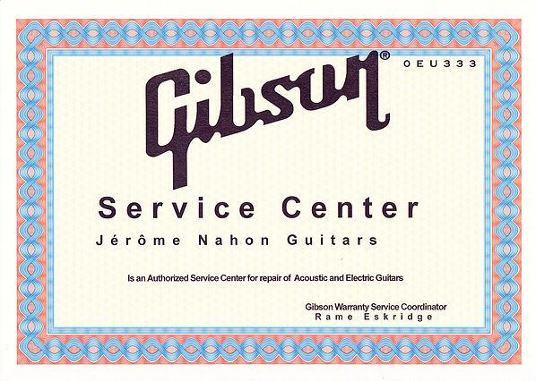 Gibson Service Center