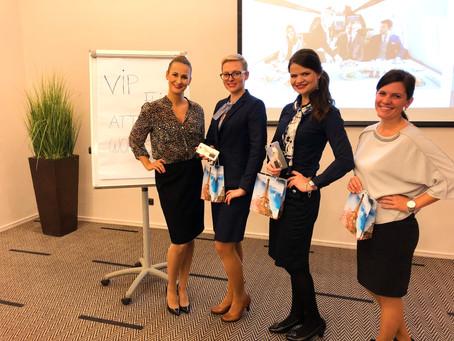 1st workshop for VIP Flight Attendants in Prague, Czech Republic