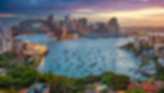 Sydney Harbour looking over Double Bay