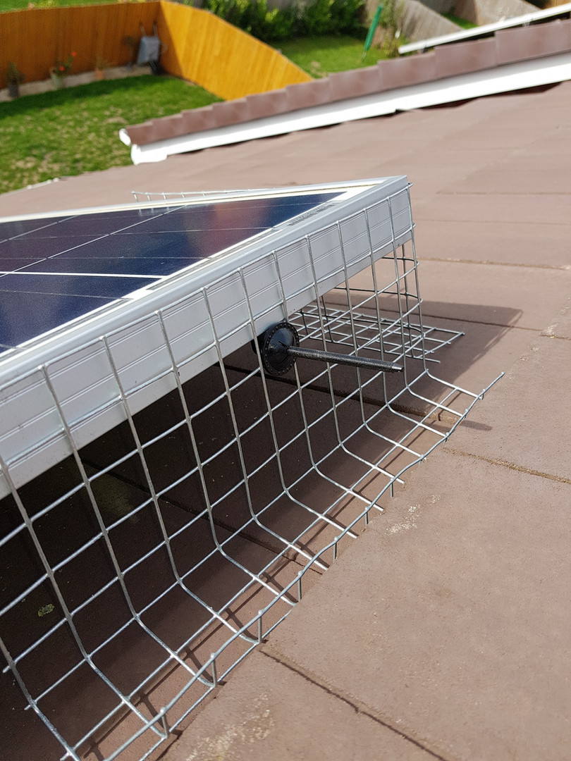 solar panel proofing birds coventry