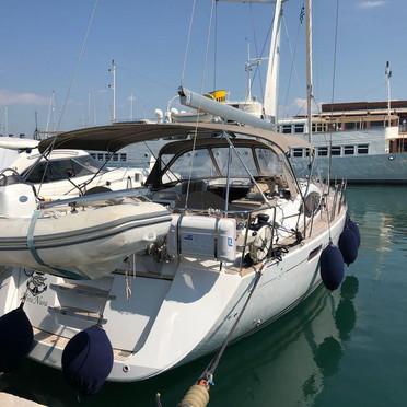 Jeanneau yacht 57