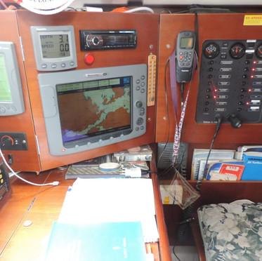 Navigation electronics