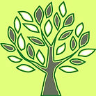 The practice logo. A picture of a stylised tree.