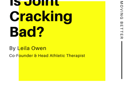 Is Joint Cracking Bad?