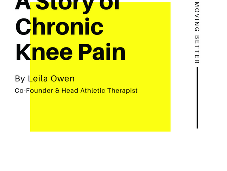 A Story of Chronic Knee Pain
