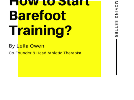 How to Start Barefoot Training