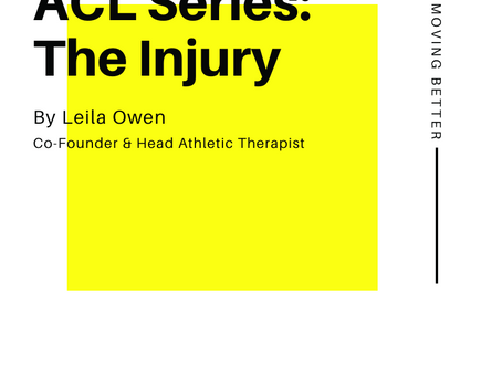 ACL Series: The injury