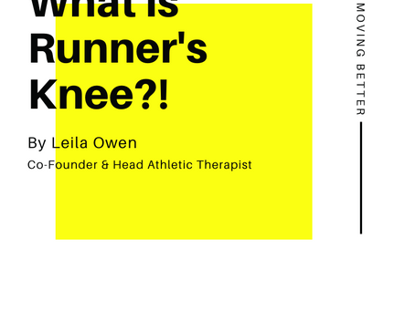 What Is Runner's Knee?!